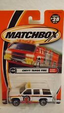 2000 Matchbox Chevy Tahoe Fire Flame Eaters Series # 28 of 75