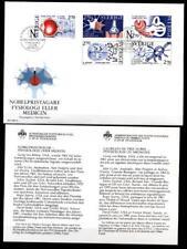 Nobelpreisträger für Physiologie und Medizin. FDC+Beschreibung. Schweden 1984
