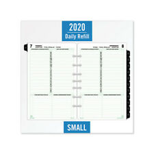DAYTIMER'S INC. Dated One-Page-per-Day Organizer Refill - DTM12010