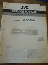 JVC XL-V333BK Compact Disc Player Service Manual