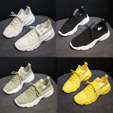 Women's Platform Sneakers Running Fitness Athletic Sports Tennis Sport Shoes
