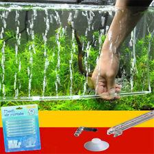 Air Stone Aquarium Bubble Aeration Tube Wall Curtain Fish Tank Pump Strip 60cm