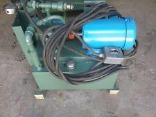 Hydraulic Power Unit 16 Gallon w/ Motor & Vickers Valve/GE Control Panel