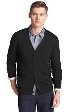Jack Spade Brockman Merino Wool Cardigan Sweater Black Extra Large NWT $245 GIFT