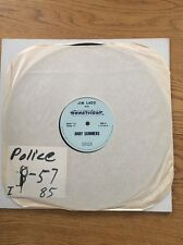 The Police Rare Andy Summers Lp Vinyl Radio show Innerview US Bewitched Promo