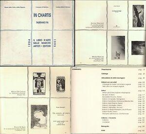IL LIBRO D'ARTE NELLE MARCHE-ARTISTI EDITORI-1904-1995-CENTINAIA DI ARTISTI-1996