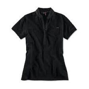 Polo Shirt Ladies Genuine BMW M Polo Black Select Size 80142410894-98 XS-XL