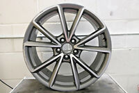 "1 x ORIGINALE AUDI A4 B8 19 "" CERCHIO IN LEGA Black Edition S-LINE 8k0601025ct"