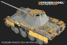 PEA138, WWII German Panther G/F/II Side Skirts Late Productio, VOYAGERMODEL 1/35