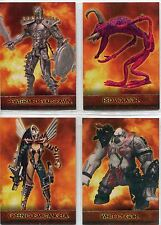 Spawn The Toy Files Complete Exclusive Figure Chase Card Set E1-4