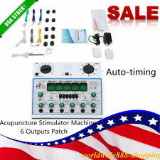 KWD808-I Electric Acupuncture Stimulator Machine Massager Care 6 Outputs Patch
