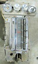 1964 67 Delco Corvette C2 Mid Year Amfm Radio Knobs Excellent Gm Original