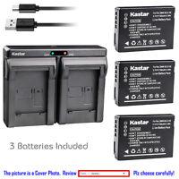 2x patonas para Battery batería np-bn1 para Sony Cyber-shot dsc-w580 Cargador USB