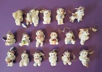 Dreamsicles Collectable Christmas Ornaments Lot of 16 NOS Cherub