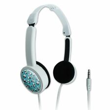 Panda and Bamboo Pattern Novelty Travel Portable On-Ear Foldable Headphones