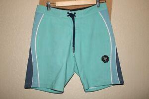 "VISSLA Mens 30"" Waist Upcycle Poly-Cotton Stretch Boardshorts/Surf/Swim"