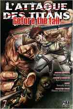 manga L'Attaque des Titans - Before The fall Tome 7 Seinen Hajime Isayama Pika