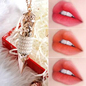 Magic Queen Scepter Lipstick Three-color In One Matte Soft Mist Lipstick CW6J