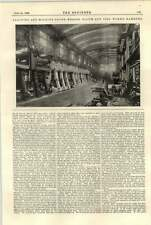 1896 Blohm Voss Hamburg Machine Shops And Erecting Engineering