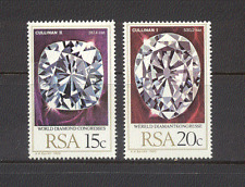 South Africa 1980 Diamonds/Minerals 2v set (n19264)