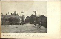 Moosup CT Main St. c1905 Postcard