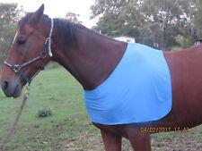 NEW HORSES BLUE LYCRA UNDER RUG BIB Large (Full size)