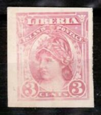 Liberia Sc94 Liberty, Proof, Lightly Hinged.