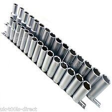 30 piezas 1.3cm & 1cm OSCURO TUBOS DE ACCIONAMIENTO 8 -24mm ACERO CR-V