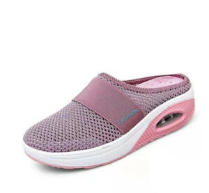 Air Cushion Slip-On Walking Shoes Orthopedic Diabetic Walking Shoes