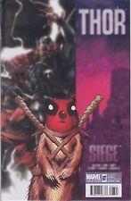 THOR #607 - Deadpool SIEGE variant Comic (2007) - NM - MARVEL