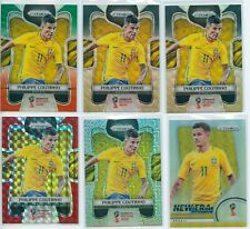 2018 Panini Prizm World Cup Philippe Coutinho Silver Mojo Black Gold Red Lots*6