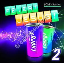 CD: FEIERT JESUS! ENERGY Vol. 2 - Lobpreis - Anbetung - Worship *NEU*
