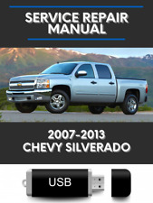 Chevrolet Silverado 2007-2013 Service Repair Manual Workshop on Usb