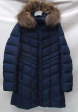 Bogner Womens Fire+Ice Dalia-D Parka w/Fur 3472 P282 Indigo Size 12