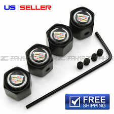 ANTI THEFT VALVE STEM CAPS WHEEL TIRE FOR CADILLAC VA07 - US SELLER