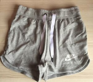 Nike Air Womens/Ladies Slim Fit Grey Shorts Bnwt
