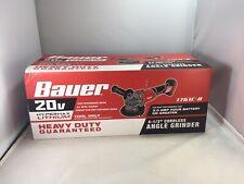 Bauer 20 V 4 1/2 Cordless Grinder Tool Only