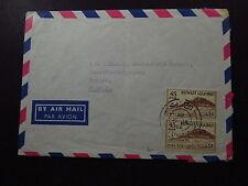 Cover Air Mail Kuwait Capt Stronen Mowinckels MS Ogna Bergen Norway Norge 1962