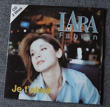 Lara fabian, je t'aime / alleluia, CD single