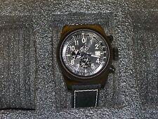Men's Invicta 19379 Aviator Watch /w Yellow 3 Slot Case (#263)