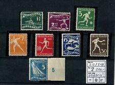 Ned. 1928 Olympiade Nr. 212 t/m 219 postfris Cat.w. € 200,=
