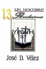 Un Nombre 13 Revelaciones by Jost D. Vtlez (2009, Paperback)