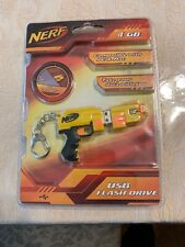 Nerf Gun 4GB USB Key chain Flash Drive, Compatible with PC & Mac ~ Free Shipping