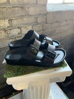 NEW Women's Birkenstock Arizona EVA Slide Black Narrow Fit Sandal Pick Size