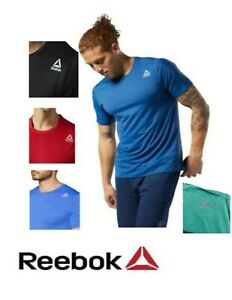 Reebok Mens' Speedwick T Shirt / Short Sleeve -US Sizes