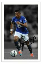 SAMUEL ETO'O EVERTON SIGNED AUTOGRAPH PHOTO PRINT  SOCCER