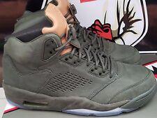 Nike Air Jordan Retro 5 V Take Flight Premium Sequoia 881432-305 Size 8 Green