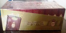 FILTRO REX BRAVO per sigarette 20 confezioni da 60 filtri da 6 mm SIGILLATO