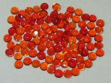 3mm LOT 100pcs MEXICAN ASST COLOR  FIRE OPAL ROUND CABOCHONS 8.35ct SPECIAL