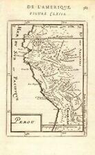More details for peru & ecuador. rivers towns. lima quito cusco arica. 'perou'. mallet 1683 map